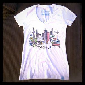 TORONTO NWOT Ladies T-shirt. Sz Small